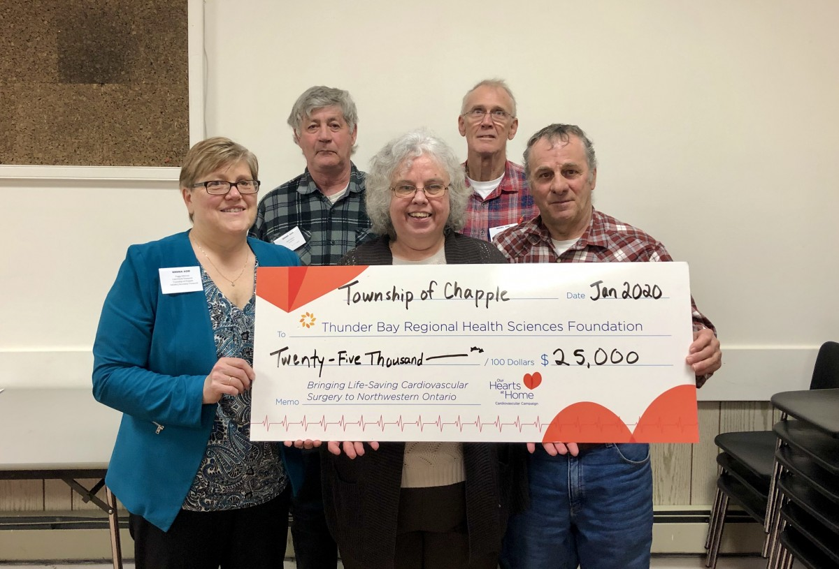 Council picture for Cardiovascular program donation