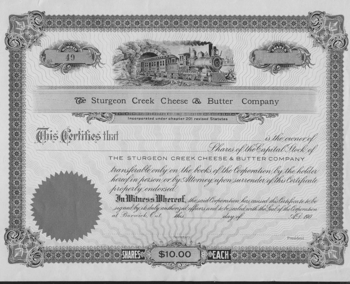 Sturgeon Creek Cheese and Butter Co